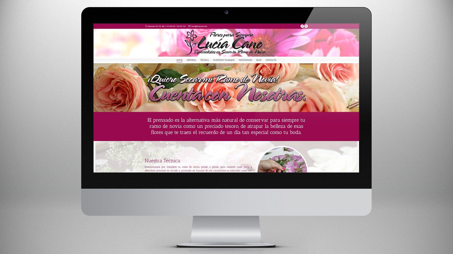Flores para Siempre Lucía Cano